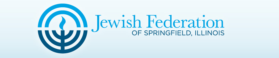 Jewish Federation of Springfield, Illinois - Specially Sized Logo for Blog Header