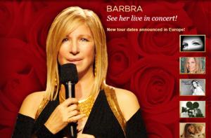 Photo: www.barbarastreisand.com