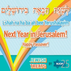 Passover - Next Year in Jerusalem Poster