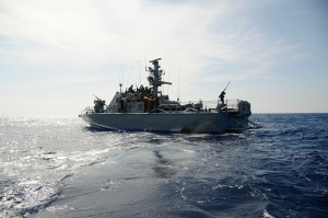 The Israeli Navy Sets Sail on Another Mission in the Mediterranean. Photo: IDF.