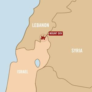 Initial reports suggest that an anti-tank missile was fired at a military vehicle near Mt. Dov in northern Israel. Credit: Israel Defense Forces.