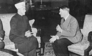 Grand Mufti of Jerusalem Haj Amin al-Husseini meeting with Adolf Hitler in Dec. 1941. Photo by Bild Bundesarchiv. Credit: Jewish Journal